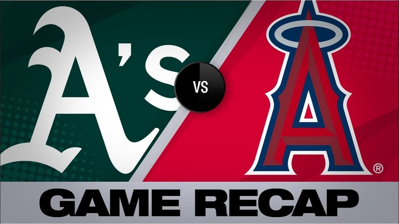 Fletcher Pujols lead Angels to a 3 2 win A's Angels Game Highlights 9 24 19