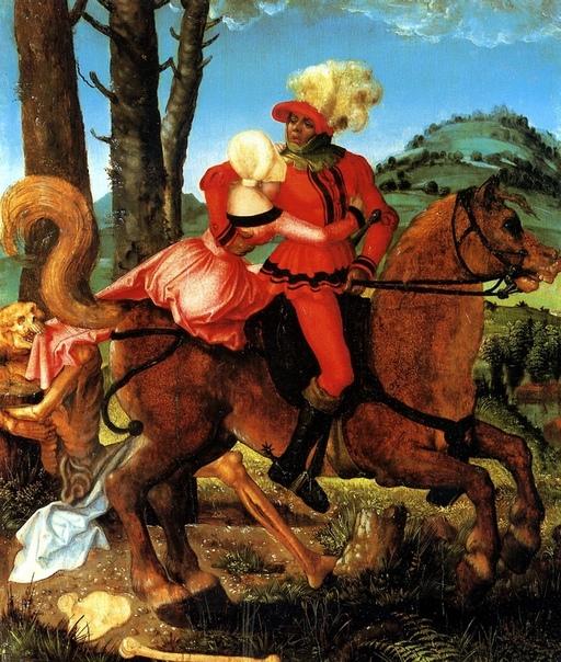 Рыцарь, молодая девушка и Смерть, Ханс Бальдунг Грин