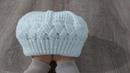 Tığ İşi İnci Şapka Bere Yapımı Örgü Modelleri Crochet Hat Making 64