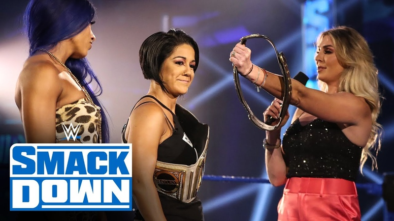 Charlotte Flair stirs the pot with Sasha Banks Bayley SmackDown May 15 2020