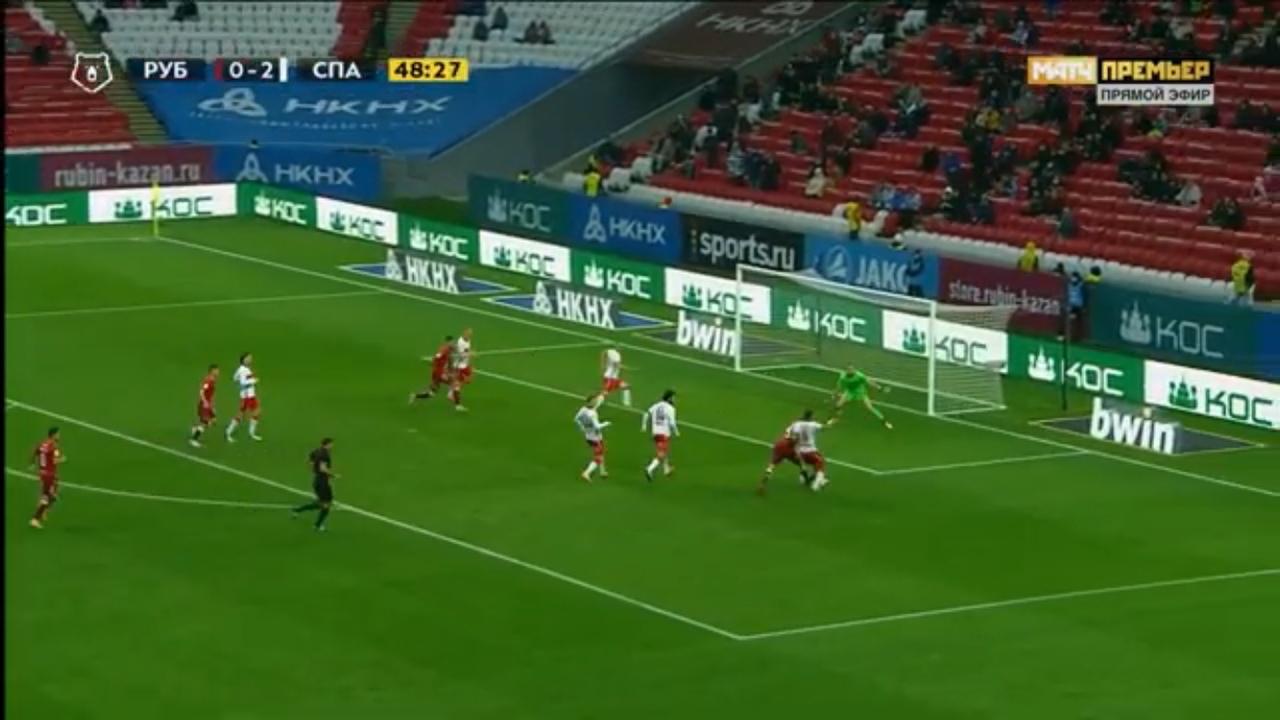 Рубин - Спартак, 0:2. Единоборство Макарова и Аиртона