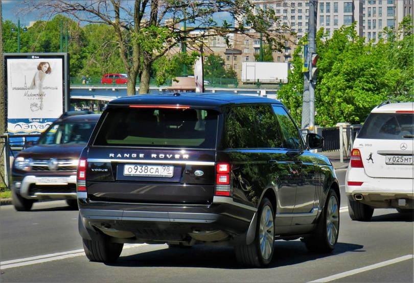 Range Rover Владислава Безбородова