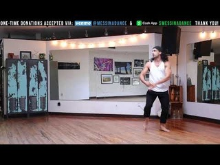 BODY MOVEMENT WARM-UP FOR AFRO-CUBAN
