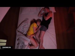 Пьяная соседка напросилась переночевать [русское домашнее порно секс видео фильм анал минет молодых трахнул спящую девушку Hd]