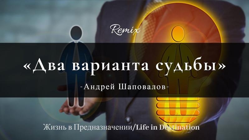 Два варианта судьбы Remix на тему пастора Андрея Шаповалова Двигатель нашей жизни