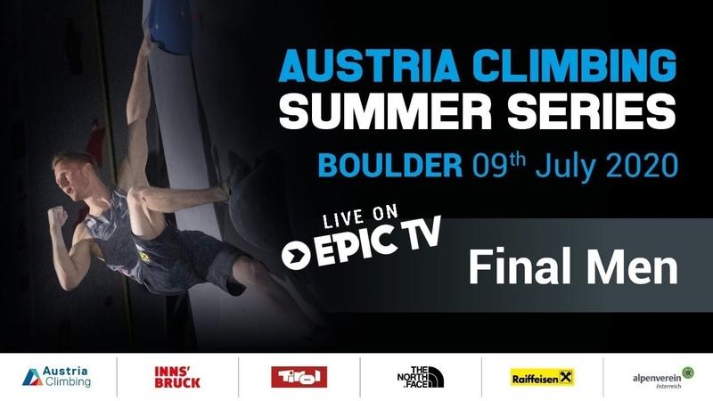 Austrian Climbing Summer Series Men's Final Innsbruck