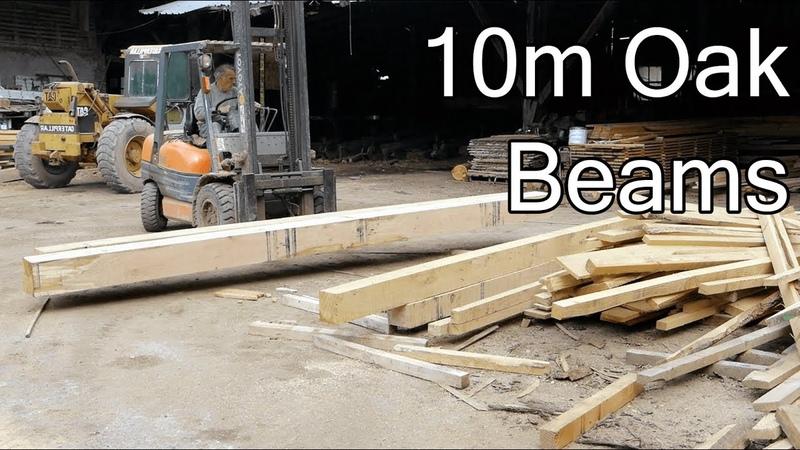 DIY ROOF INSTALLING 10m BEAMS