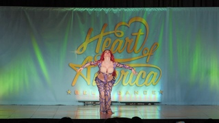 Oxana Bazaeva performing at Heart of America Gala 2018