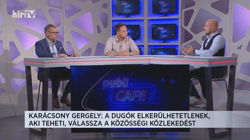 Publi Cafe 2021 09 01 HÍR TV