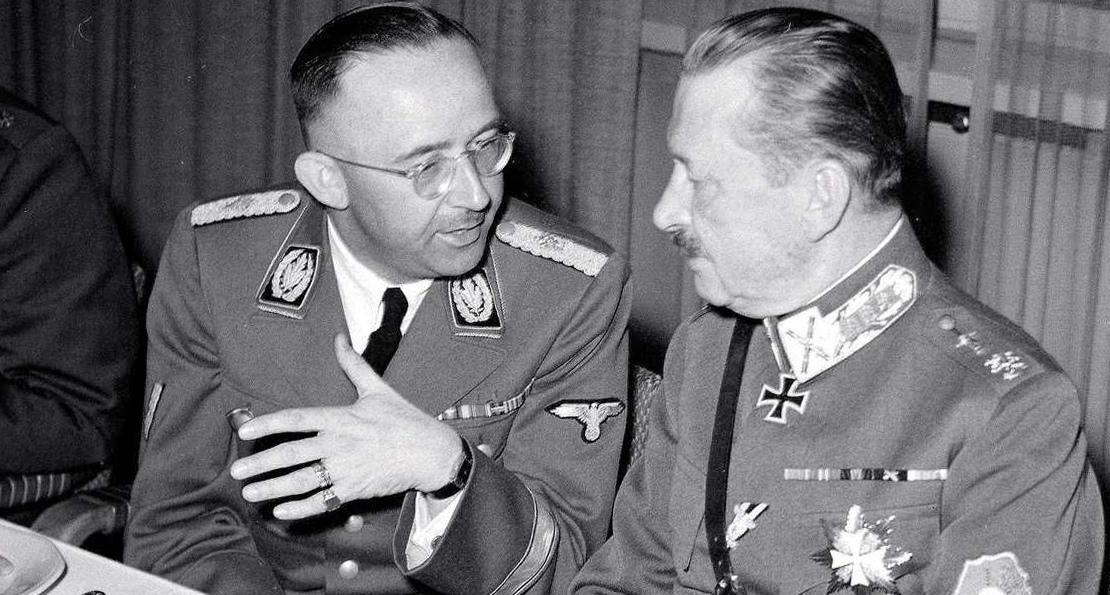 Маннергейм и Гиммлер