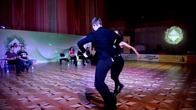 Хастл Siberian Fest Invitational Денис Григорьев и Екатерина Николаева