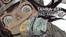 I pad painting - Army girl with corgi
