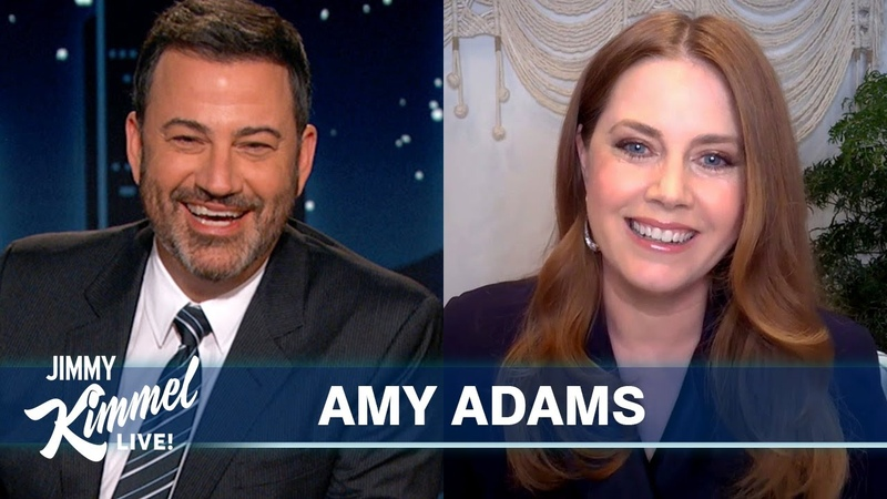 Amy Adams on Playing FaceTime Roulette New Robert De Niro Crush Thanksgiving Plans