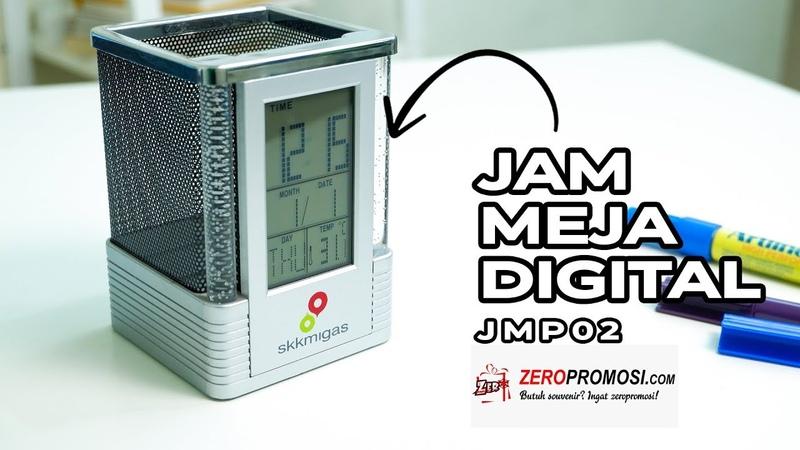 Souvenir Jam Meja Digital JMP02 Review by