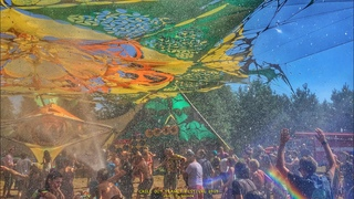Waterfall on the Dance Floor 🌞 ChillOutPlanet Festival 2015, Russia,