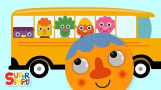 The Wheels On The Bus (2019)   Nursery Rhymes   Super Simple Songs