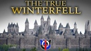 The True WINTERFELL according to the books, EPIC 3d model, tour and comparison
