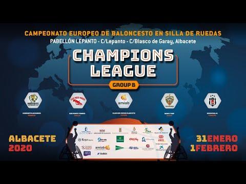 BasKI TSOP vs GSD Porto Torres Champions League 2020