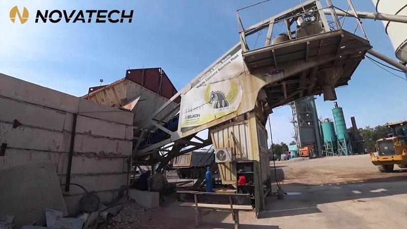 Обзор бетонного завод Elkon Mobil Pegas 35 Рубрика обзоры Видео 3