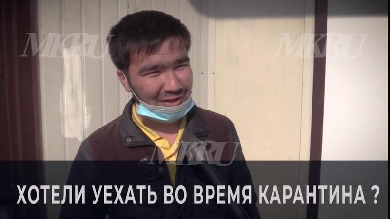 Мигранты из Киргизии поделились планами после открытия границы останемся работать
