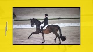 ОИ-2020. Конный спорт. Выездка. Гран-при. Джессика фон Бредов-Вернль (Германия)  - 1 место