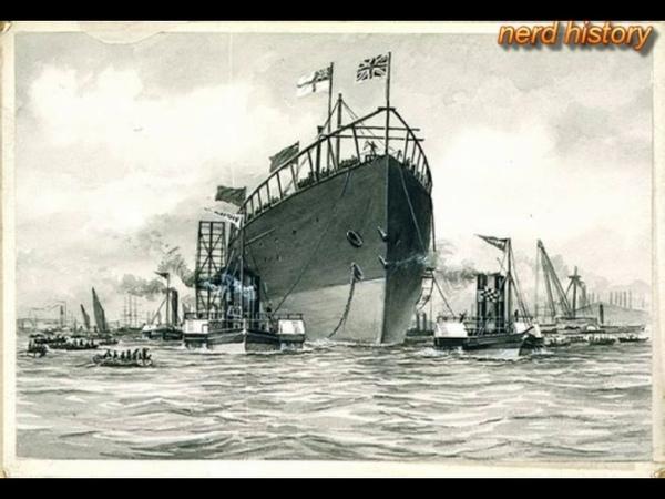 """Проклятый корабль Самый большой корабль 19 го века Грейт Истерн"""" или Левиафан"""