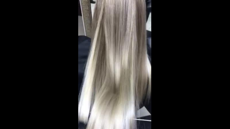 📲 Записываемся на окрашивание 8 904 219 28 68 Viber и Direct hairstyle haircolor тренды2019 hair stylist lipetsk48
