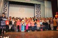 Областной фестиваль детского творчества Алтан туяа
