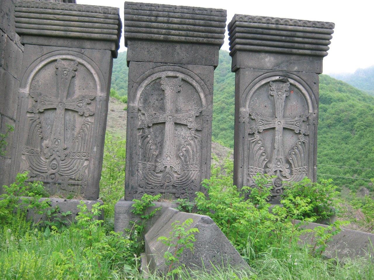 кладбище с хачкарами Ахпат