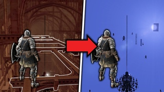 Dark Souls but the World is Invisible...