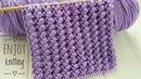 КЛАССНЫЙ Объемный Узор спицами ПУЗЫРЬКИ Узор 51 Nupps knitting stitch pattern