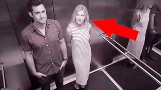 Самые Странные Моменты в Лифте, Заснятые на Камеру