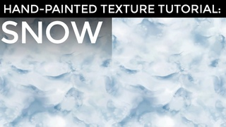 Hand-Painted Texture Tutorial: Snow