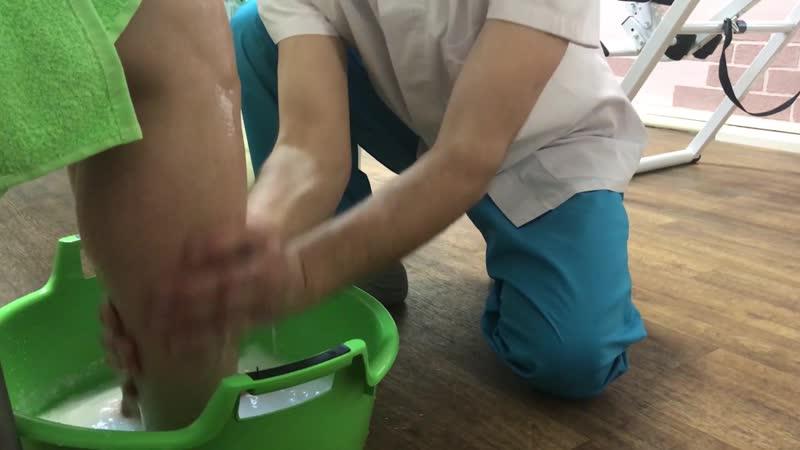 Скипидарные ванны для ног с массажем стоп