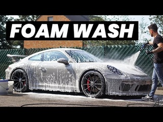 Porsche 911 GT3 Foam Wash - Exterior Auto Detailing