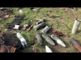 Большая проблема для населения юго-востока - мины и неразорвавшиеся снаряды - Первый канал