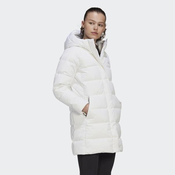 Длинная куртка-пуховик image 4
