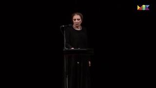 """Алла Демидова - Анна Ахматова """"Все души милых на высоких звездах"""""""