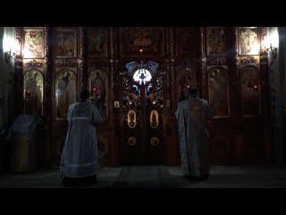 Введение во храм Прксвятой Богородици. Праздничная Литургия в Свято-Троицком храме Челябинска