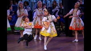 Русский шуточный танец «БАЛАЛАЙКА», Ансамбль Локтева.