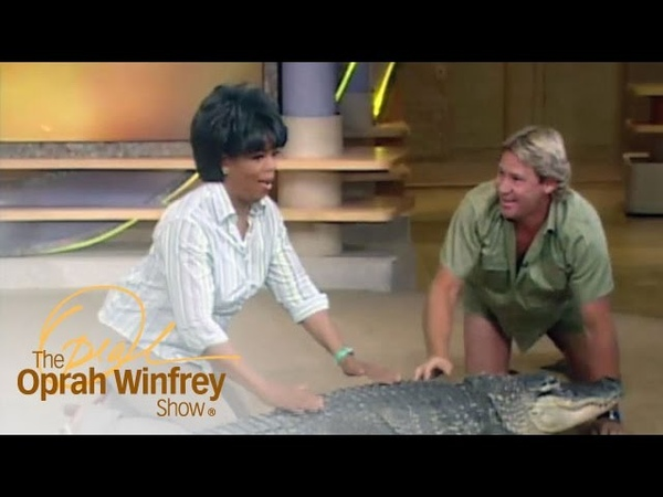 Oprahs Very Close Encounter with Bubba the Alligator | The Oprah Winfrey Show | OWN