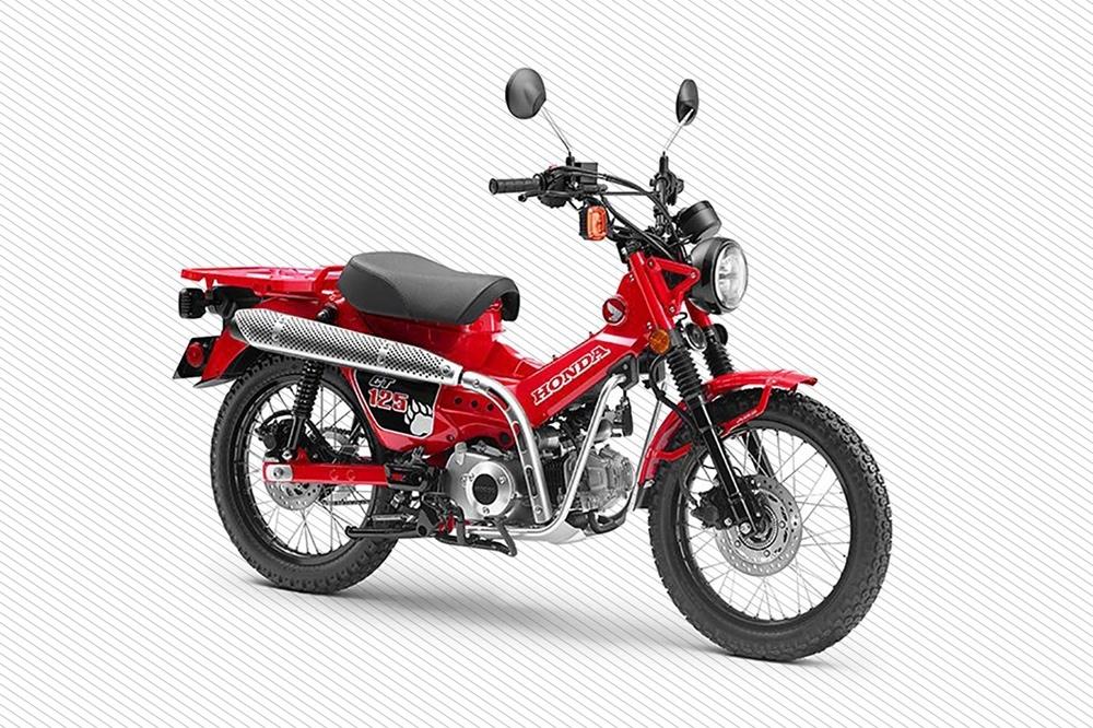 Концепт Honda CT125 представят в Токио