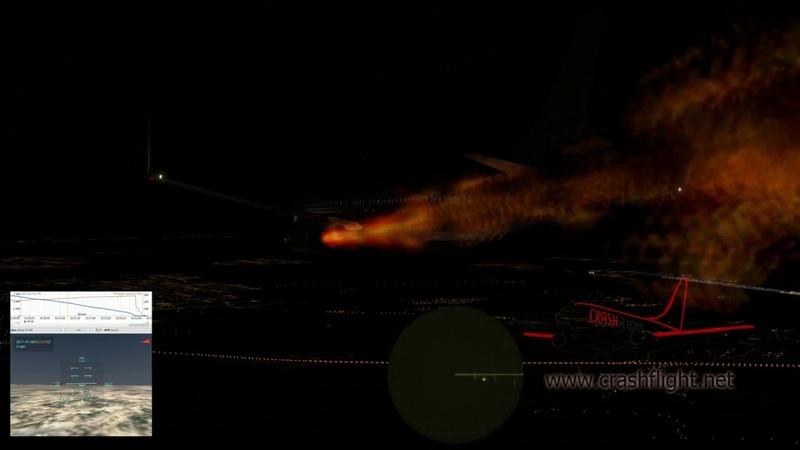 Реконструкция авиакатастрофы Boeing 737 800 МАУ Украина UR PSR рейса PS752 AUI752 близ Тегерана 08 01 2020