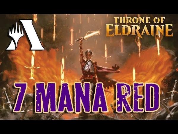 7 Mana MONO RED в Стандарте   MTG Arena Throne of Eldraine