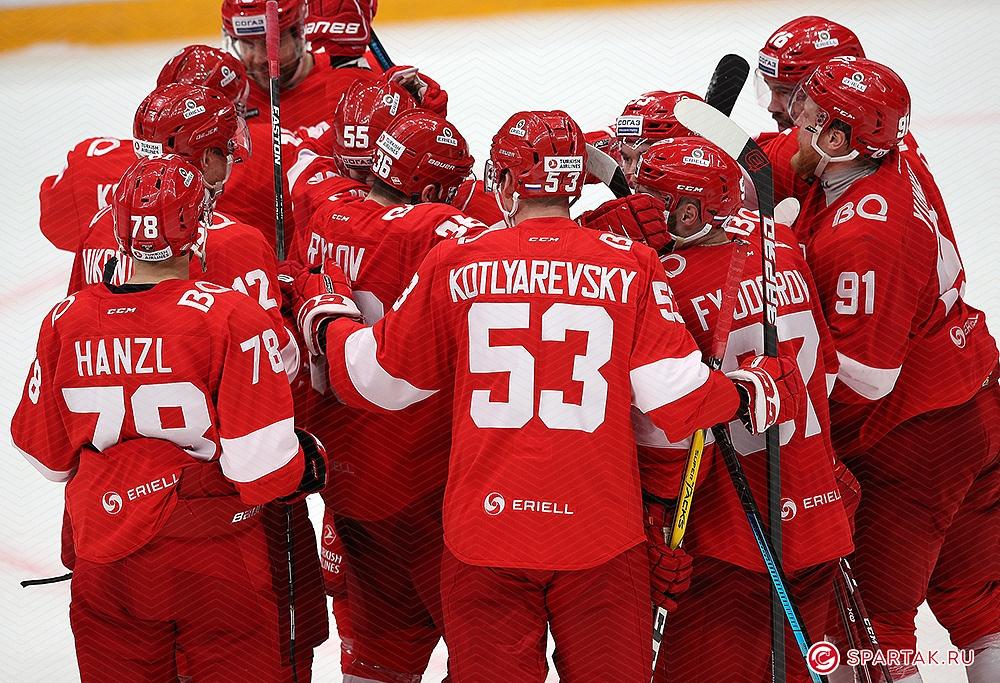 «Спартак» в овертайме одержал волевую победу над «Сочи» (Видео)