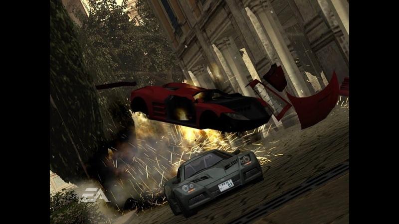 Burnout Revenge!! Signature Takedowns! Xbox 360! Gold medal racing! part 3