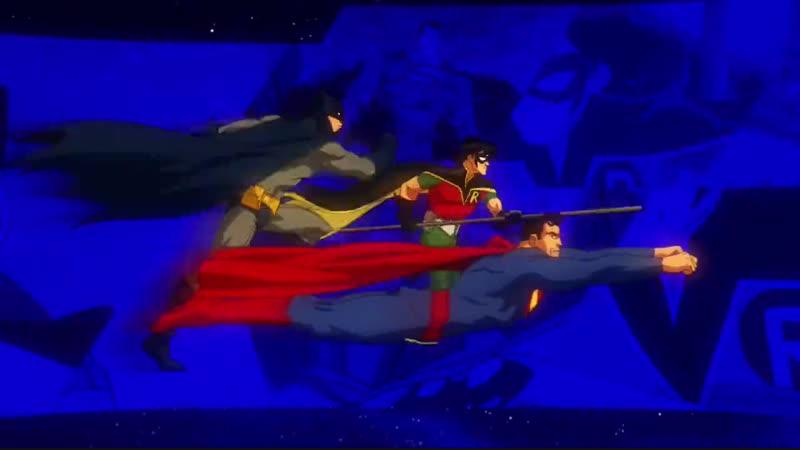 Лига Справедливости В ловушке времени