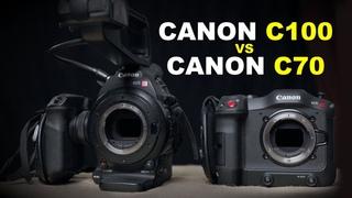 Сравнение кинокамер Canon C70 vs Canon C100