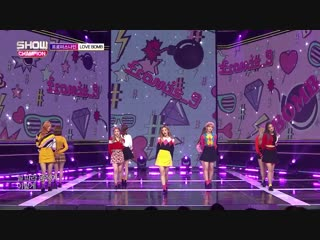 fromis_9 - Love Bomb @ Show Champion 181017