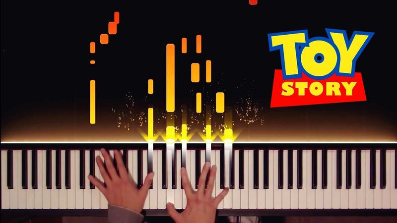 Toy Story You've Got a Friend in Me Stride Ragtime Piano